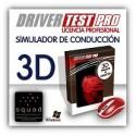 Simulador de conducción de turismo Driver Test Pro