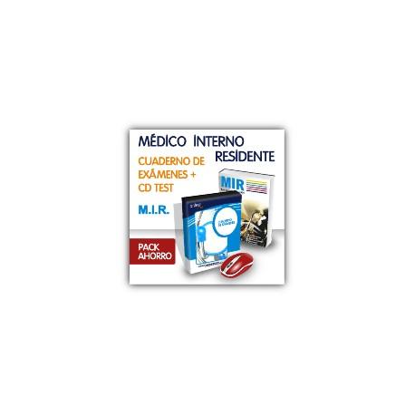 Pack ahorro - Médico Interno Residente (MIR) Test y manual