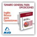 Inglés básico para oposiciones