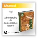 Libro de test - Administrativos de Corporaciones Locales (Diputaciones y Ayuntamientos)