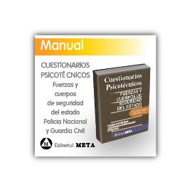 Cuestionarios psicotécnicos - Cuerpos de seguridad del Estado: Policía Nacional y Guardia Civil