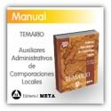 Libro de temario - Auxiliares Administrativos de Corporaciones Locales (Diputaciones y Ayuntamientos)