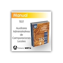 Libro de test - Auxiliares Administrativos de Corporaciones Locales (Diputaciones y Ayuntamientos)