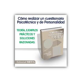Libro - Cómo realizar un cuestionario psicotécnico y de personalidad