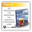 Libro - Test psicotécnicos y de personalidad para oposiciones de la administración pública