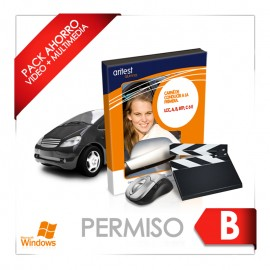 PACK AHORRO PERMISO B