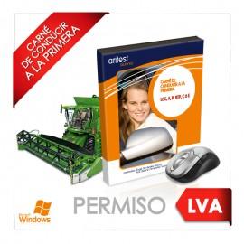 Test - Licencia LVA Vehículos agrícolas