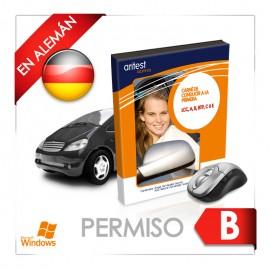 Test - Permiso B en alemán
