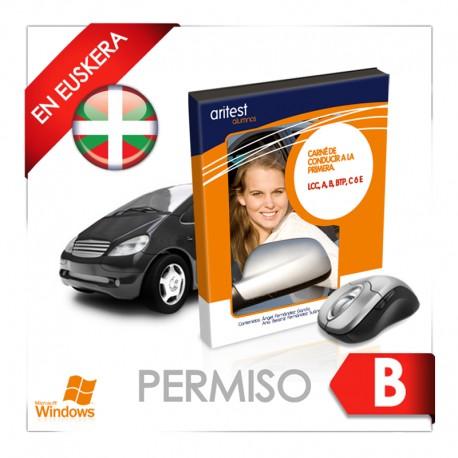 Test - Permiso B en euskera