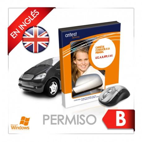 PERMISO B INGLÉS