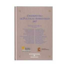 Observatorio de Políticas Ambientales 2007