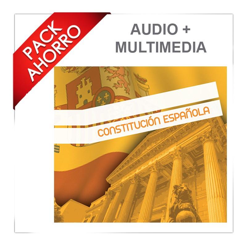 Pack Ahorro Audio Y Multimedia Constitución Española De 1978