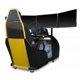 Simulador de conducción para oposiciones